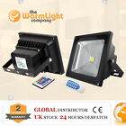 Outdoor IP65 Waterproof COB RGB Colour Changing LED Floodlight 10W 20W 30W 50W
