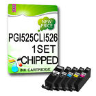 5 NON-OEM Compatible Ink Cartridges REPLACE for PIXMA Printers
