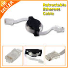 1m, 1.5m, 2m Retractable CAT5e RJ45 Ethernet Network LAN Modem Router Cable