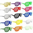 Shutter Shades Sun Glasses Novelty Fun (different colours)