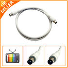 Digital Coaxial Coax Extension Cable Lead Male to Male for TV Aerial 1m......50m