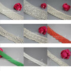 New 5 Yards 20/30/45/50/100mm Cotton lace Trim Dress Lace Trim Cotton/Cluny Lace