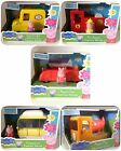 Peppa Pig FUNTIME Sets - CAMPERVAN, FIRE ENGINE, CAR, SUPERMARKET DELIVERY VAN
