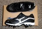 Mizuno Swift G2 Switch Women's Softball Cleats NIB Black/White Various Sizes