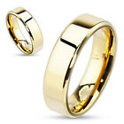 Personalized Gold Stainless Steel Band For Men or Women Wedding Ring BCSS-R081