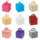 Pack of 10 Favour Boxes Various Colours Available - Weddings, Occasions, Parties