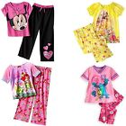 Disney Minnie Mouse Angry Bird 2 PC Pajama Shirt Pant Set Girl 4/5 6 7/8 10/12