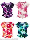 GAP KIDS Girls Shirt Floral Print Top Size 6 7 8 10 12 14 16 U Pick New