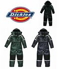 DICKIES MENS WATERPROOF PADDED COVERALLHOOD QUILTED LINING GREEN WP15000