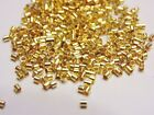 Crimp Beads, Crimp Tubes and Covers, Silver and Gold, Nickle & Lead Free