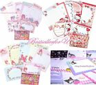 Choice♥Sanrio Character Letter Set Writing Paper 40Sheets+20Envelopes+12Stickers