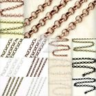 HOT!!!Fashion DIY Rollo Unfinished Chains wholesale Fit bracelet Necklace New CH