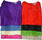 'Esther' Brand Ladies 100% Silk T-Body Size: S-M-L, 8 Colors to choose from.