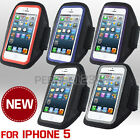 New Neoprene Sports Running Armband Case Cover Fits For Apple iPhone 5 5S