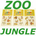 PARTY BAG STICKERS *8*10*12*20*ASSORTED DESIGN *ZOO*PRINCESS**FARM*PIRATE**NEW**