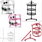 New Large Multi Layer 72 Holes Rotating Earring Jewelry Display Rack Holder