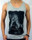NEW MENS SINGLET EVERYDAY EURO FIT TANK TOP designer gym fashion S - 2XL CASUAL