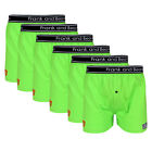 6 x FRANK & BEANS BOXER SHORTS MENS UNDERWEAR S M L XL XXL SIZES COTTON B09