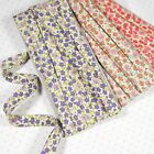 """Small Floral Pattern Cotton Bias Binding Tape 2yds 3/8"""" Wide 3 Colors S bi-023"""