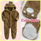 Made in Korea Cute Bear Brown Girl Boy Baby Infant Cotton Clothing / OA-1187