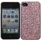 Plastic Sparkly Glitter Bling Case for Apple iPhone 4
