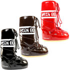 WOMENS ORIGINAL MOON BOOTS VIYNL WATERPROOF SKI SNOW WINTER BOOTS LADIES 3-8