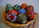 """Needlepoint canvas """"Easter eggs"""""""