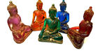 Buddha Statue handmolded from coloured resin with gold dusting effect. Buddah.