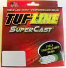 TUF LINE SUPERCAST PREMIUM BRAIDED FISHING LINE  300 YDS GREEN