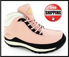 WOMENS WORK HIKING LEATHER STEEL TOE CAP LADIES SAFETY TRAINERS BOOTS SIZE 3-8