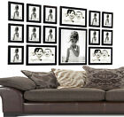 Large 15 Piece Multi Picture/Photo Wood Wooden Frames Stand Hang Wall Mounted