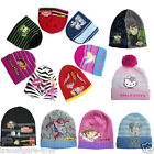 BNWT boys girls Beanies Hat CARS, BARBIE, BEN 10, BUZZ, DORA,TINKERBELL,MICKEY