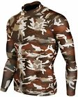 New Skin Tight Compression Military Camo Camouflage Hunting Outdoor Skirmish SET