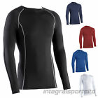 i-sports Base Layer Top Adult Unisex Long Sleeve Sport Compression Body Fit Tops