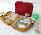 Ithinkso Capsule Toiletry Bag_Travel Cosmetic Hanging Organizer Zipper Pouch