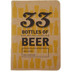 """33 Bottles of Beer"" Tasting Note Book for Beer Lovers - Craft Brew Journal Gift"
