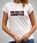 United Champions 20 - Ladies Fitted T-Shirt - Manchester Skinny Fit T (D455)