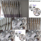 Genuine Crystal -30mm-sew on buttons-Swarovski Style - upholstery, curtains etc
