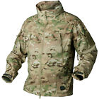 HELIKON TROOPER SOFT SHELL ARMY JACKET WINDPROOF WATER RESISTANT CAMOGROM CAMO
