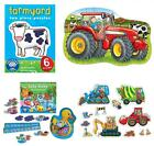 Orchard Toys - Jigsaw Puzzles, Dominoes & Card Games - Tractors, Farms, Diggers