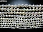 Natural Freshwater White Pearl Potato Beads 14'' 4mm 6mm 8mm 9mm 10mm 11mm 12mm