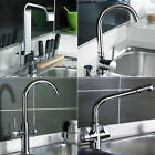 Chrome Swivel Spout Monobloc Kitchen Sink Mixer Tap Various Styles