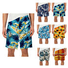 Elasticated Waist Summer Holiday Beach Swimming Pool Surf Wear Hawaiian Shorts