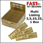 OCB Gold Papers - Premium King Size Rolling Papers 3, 5, 10, 25 or 50