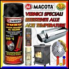MACOTA Alte Temperature Vernice Spray Pinze Freno Marmitte Tuning Tubo NON COLA