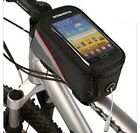 BICYCLE MOBILE PHONE FRAME HOLDER CYCLE BIKE HANDLEBAR IPHONE  POUCH BAG CASE