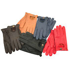 BRAND NEW TOP QUALITY REAL SOFT LEATHER MENS DRIVING GLOVES BLACK BROWN TAN 507