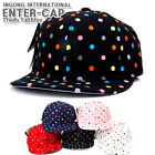 HIMORI Snapback Hiphop Casual Baseball Cap Hat New Era_ ENTER Dot Snapback