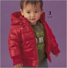 Boy Girl Baby Clothes Winter Waterproof Coat Jacket Outerwear children clothing