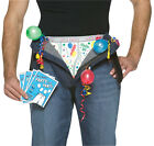 Party in my Pants! Get Waisted Costume Men Novelties Funny Rasta Buck Hens Night